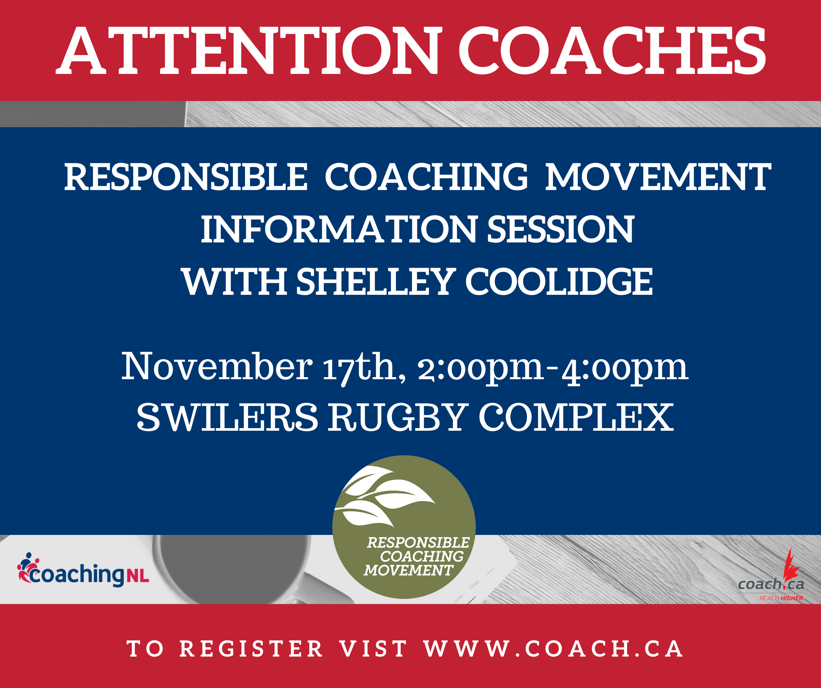 Responsible Coaching Movement Information Session