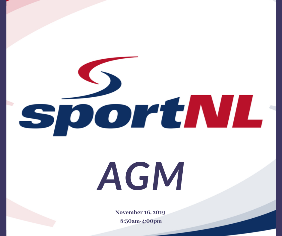 Sport NL preparing to host AGM on Saturday November 16, 2019