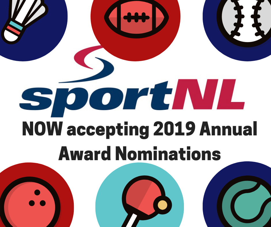 Sport NL now accepting 2019 Annual Awards Nominations