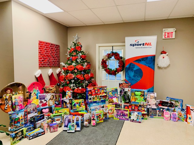 Thanks to the Provincial Sport Organizations who raised $1435 for the Happy Tree!