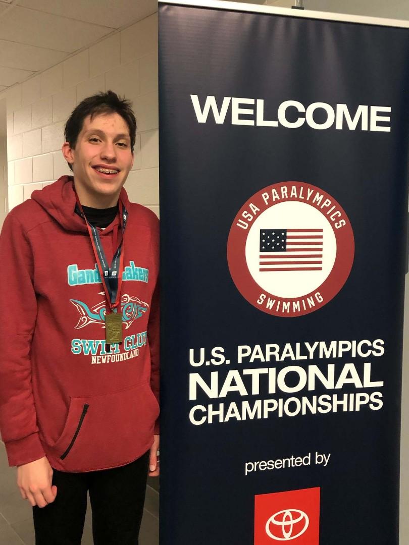 ParaSport NL: Gander Lakers Swimmer Wins Gold at International Swim Meet