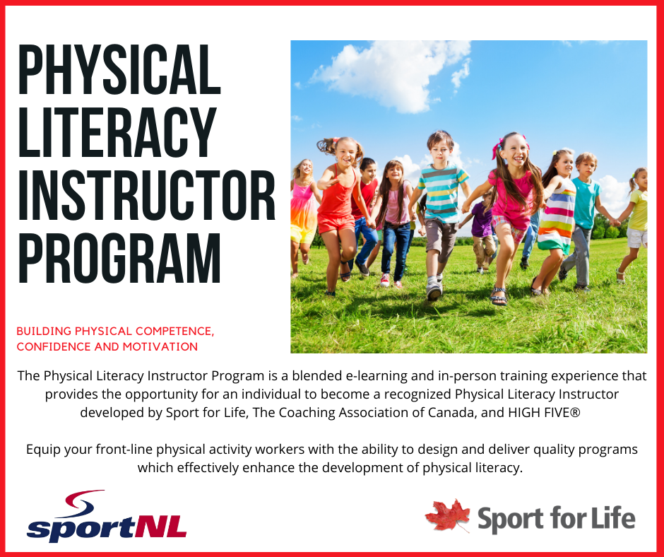 Physical Literacy Instructors Training