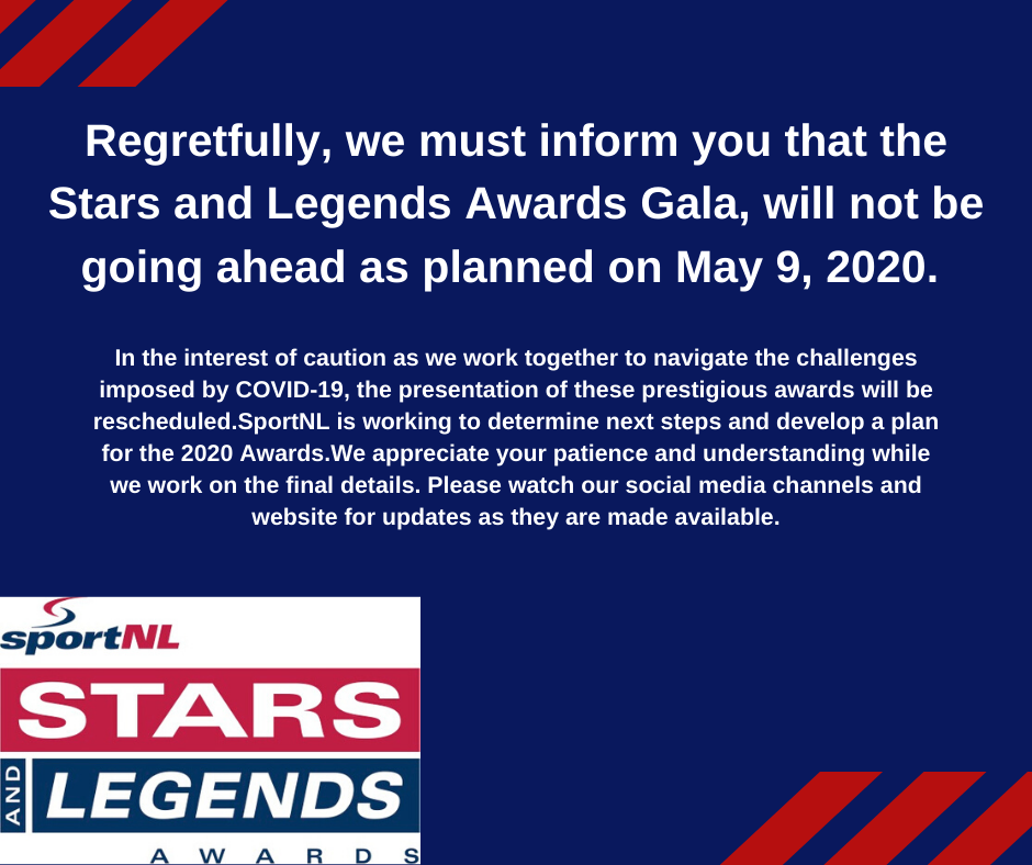 COVID-19 Update for Stars and Legends 2020